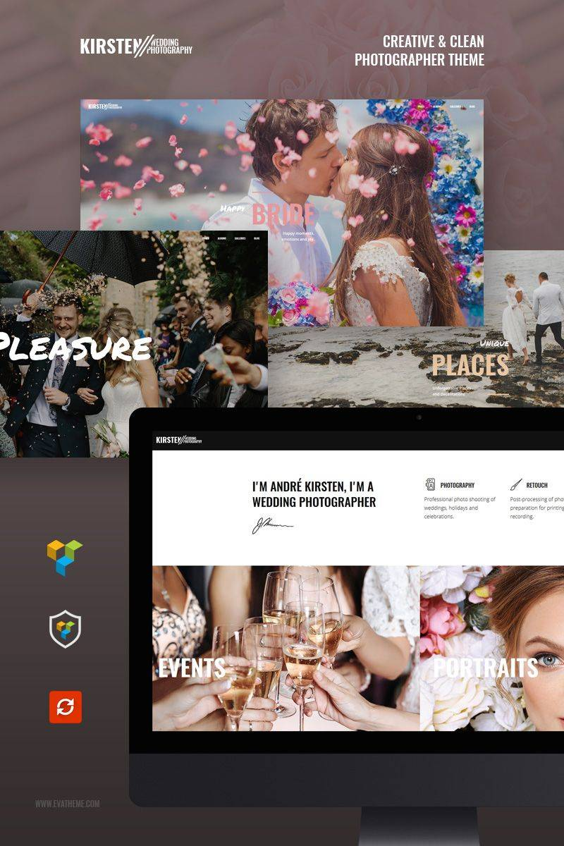 Photography Portfolio Website Templates WordPress