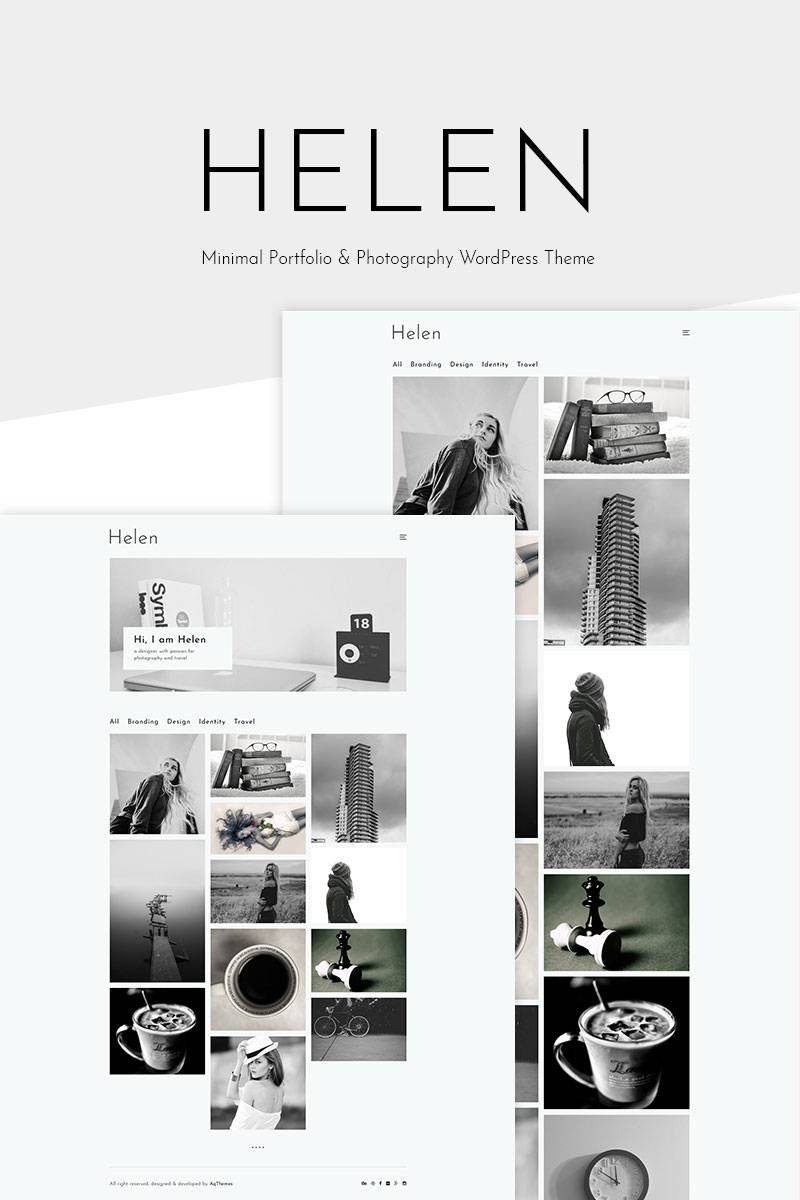 Photography Portfolio WordPress Templates