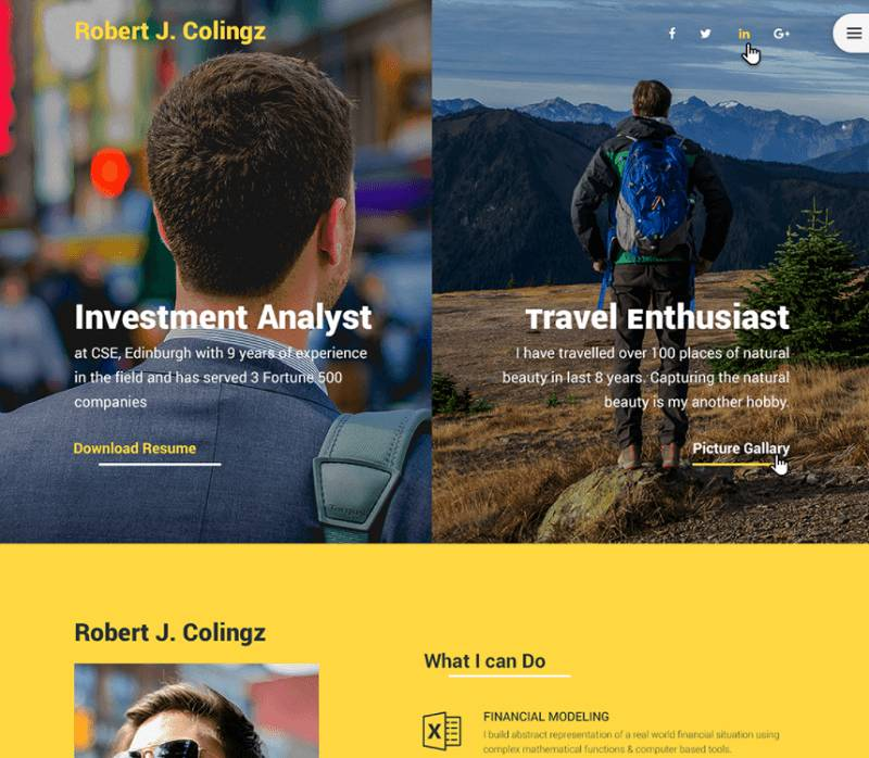 Photography Web Templates Psd Free Download