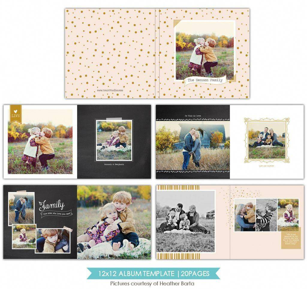 Photoshop Album Templates For Photographers Free