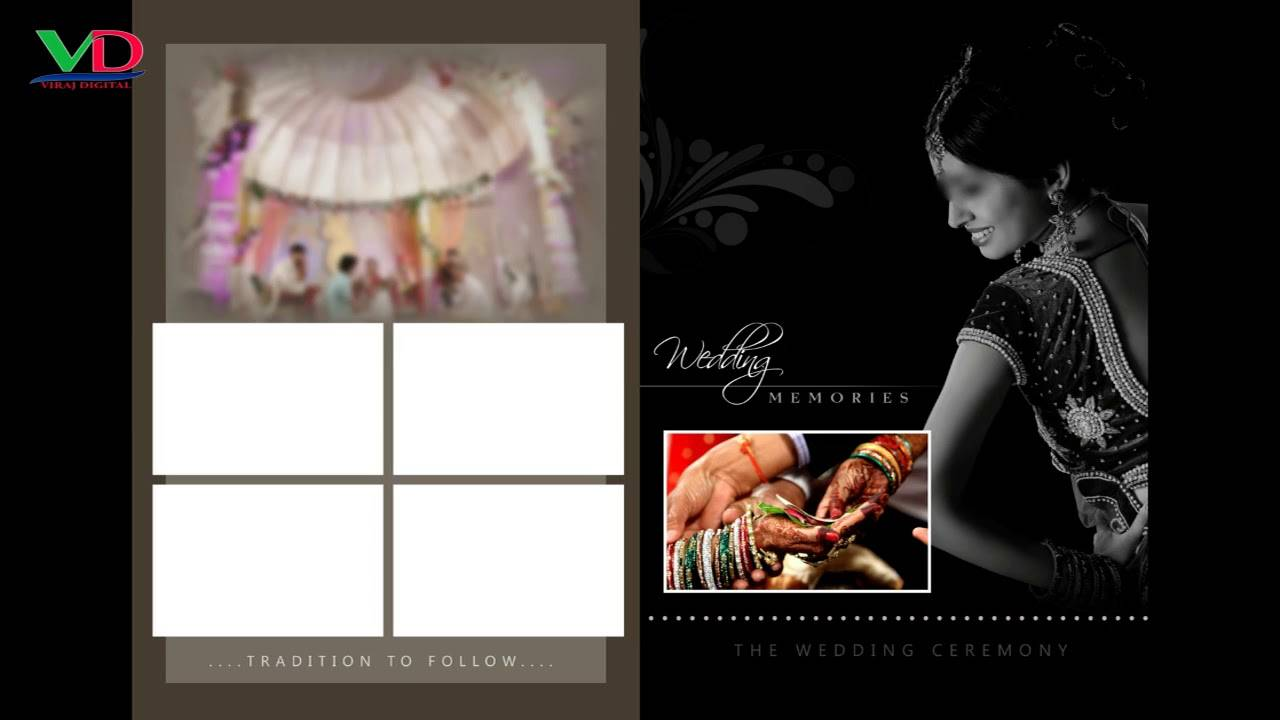 Photoshop Wedding Album Templates Psd Free Download
