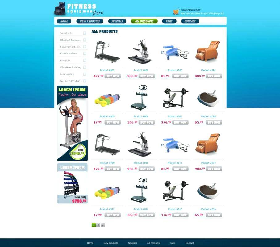 Php Ecommerce Template Download