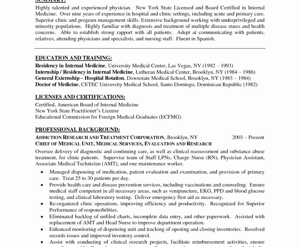 Physical Therapy Assistant Resume Templates New Graduate