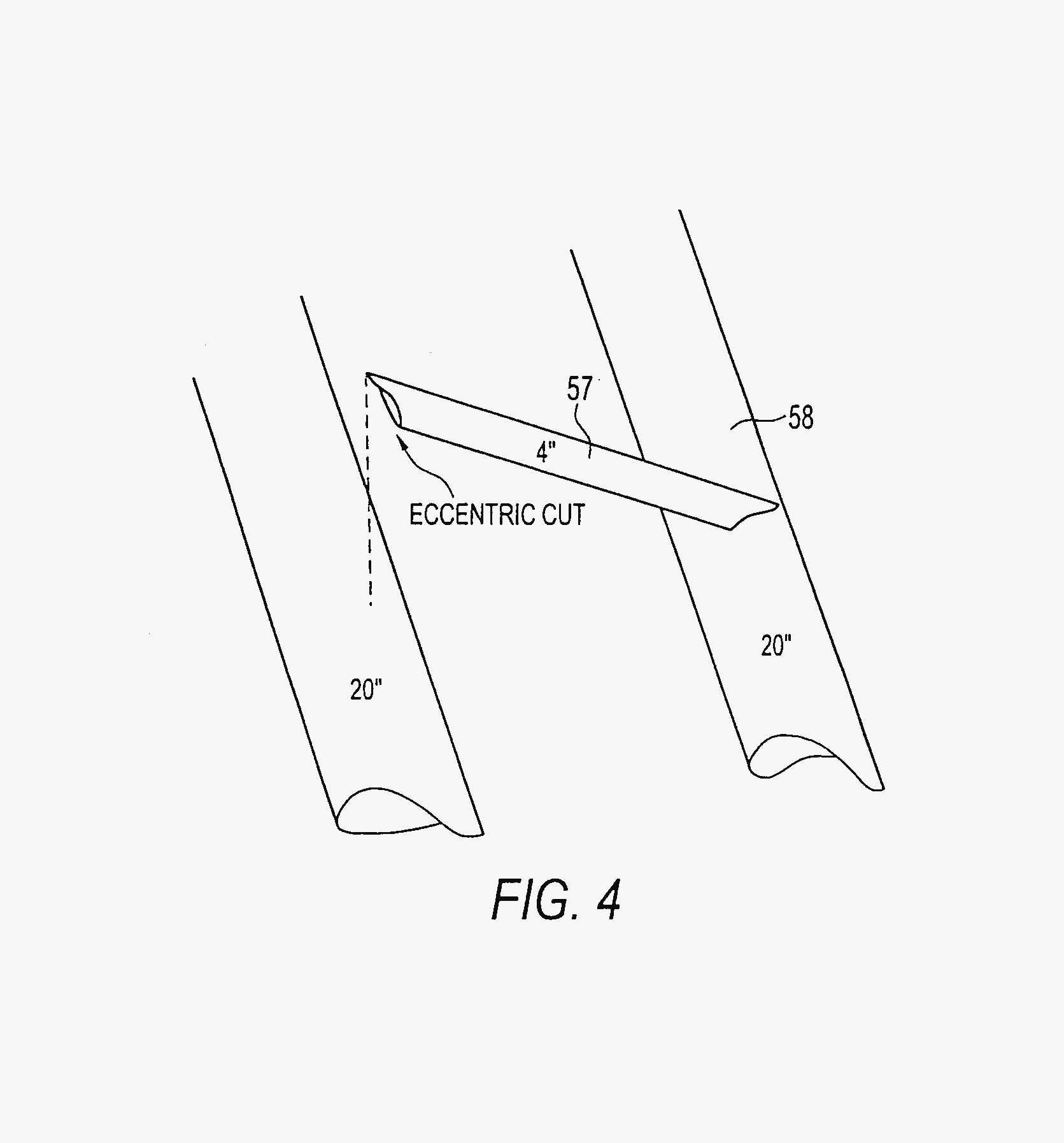 Pipe Saddle Cut Template