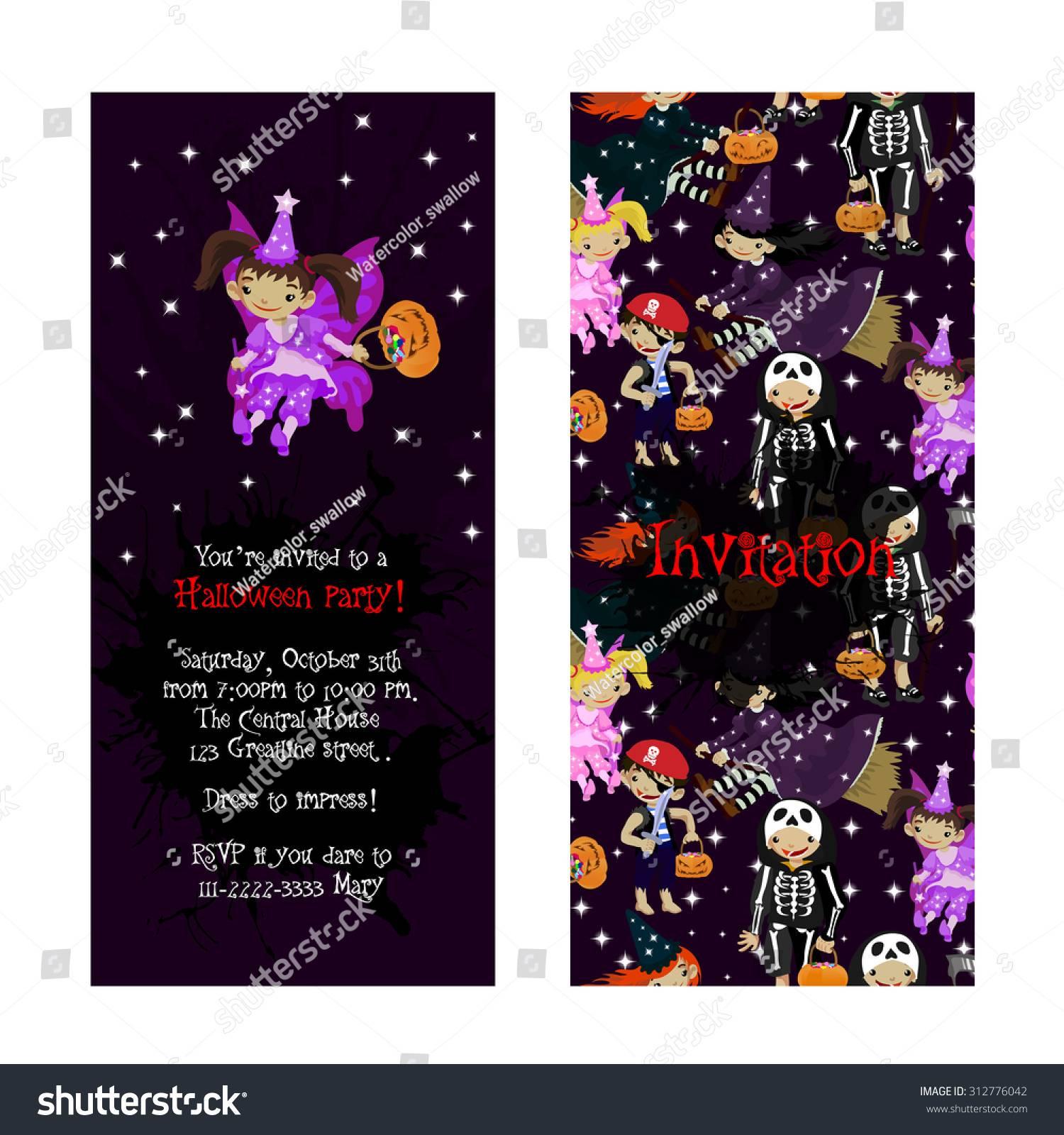 Pirate Fairy Invitation Template