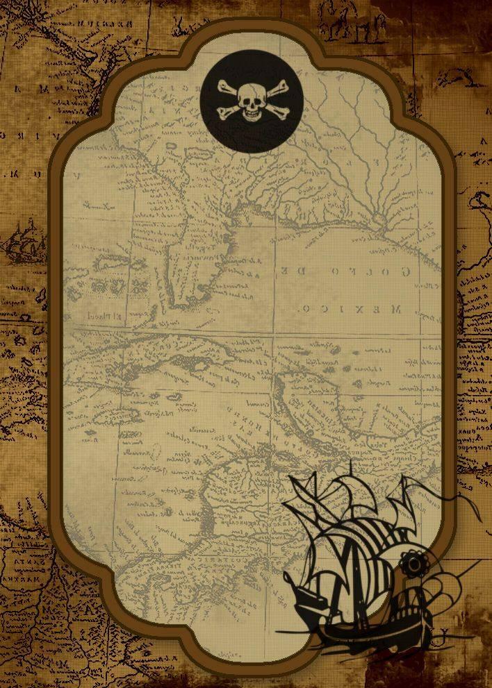 Pirate Invitation Template Free