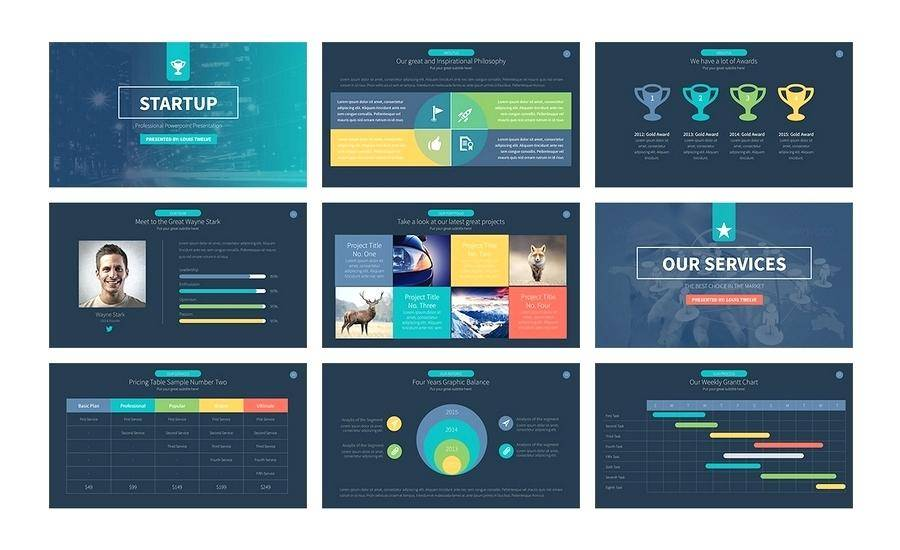 Pitch Modern Powerpoint Template Download