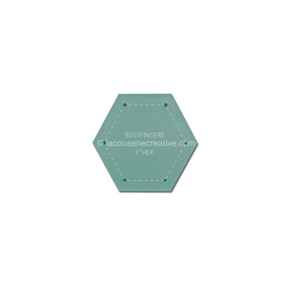 Plastic Hexagon Templates For Patchwork