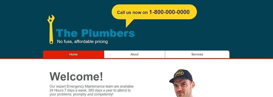 Plumber Website Templates Free Download