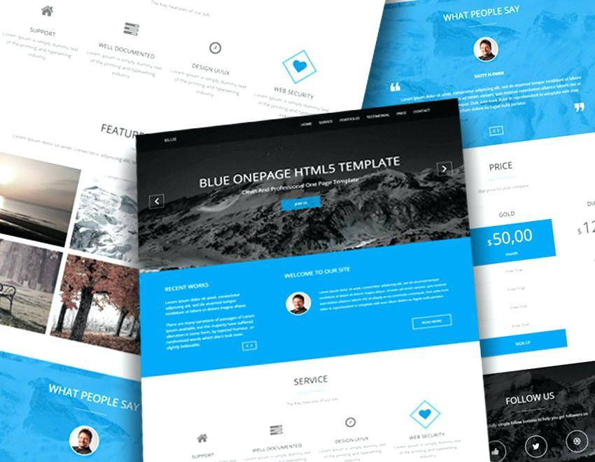 Plumbing Website Templates Free Download