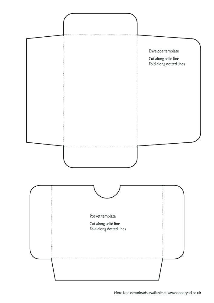 Pocketfold Invitation Template A4