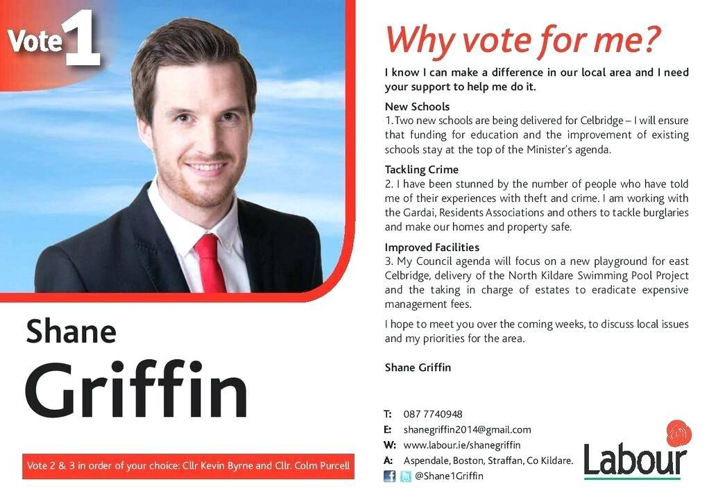 Political Campaign Flyer Samples