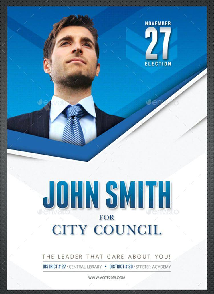 Political Campaign Flyer Template Free