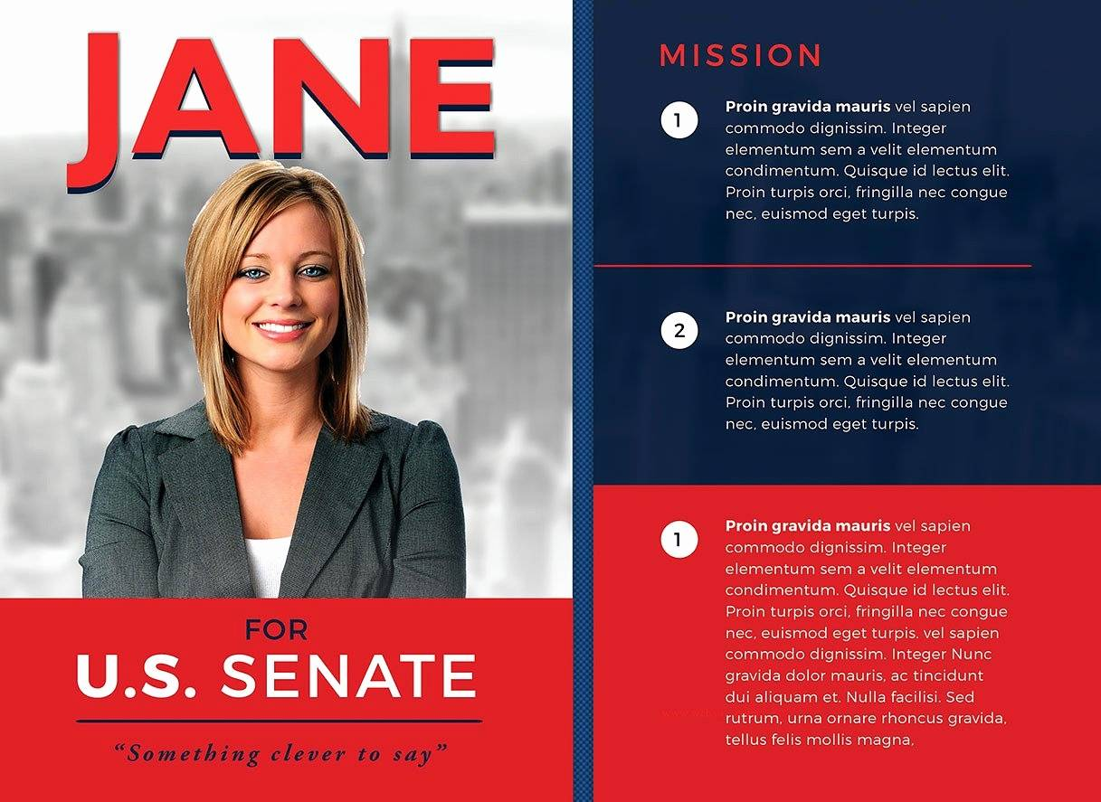 Political Campaign Flyer Templates