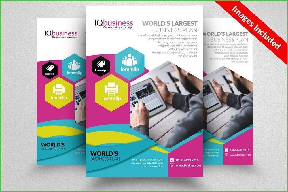 Political Candidate Brochure Template Design