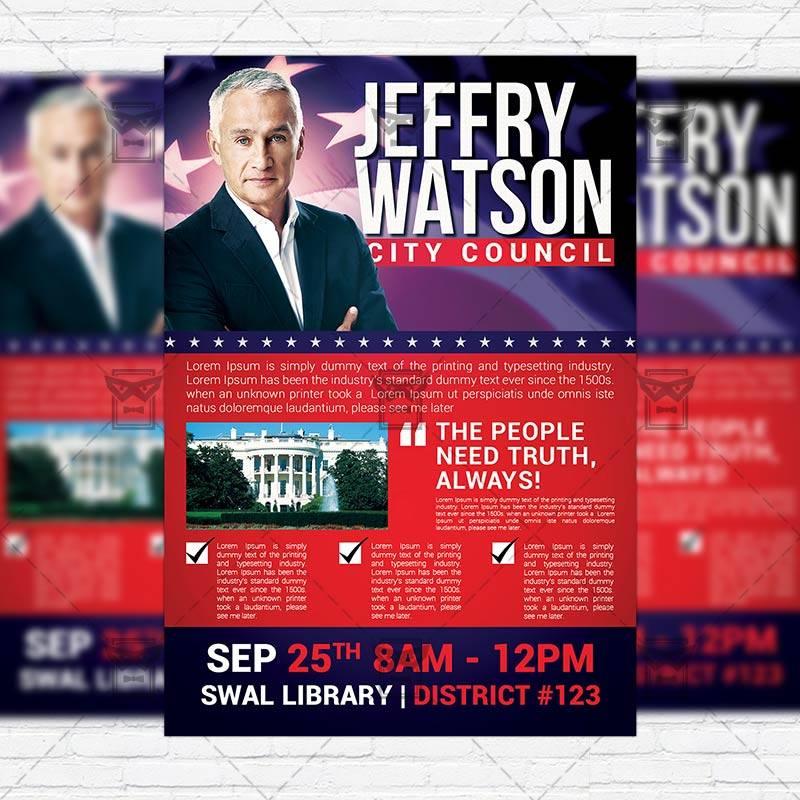 Political Flyer Samples