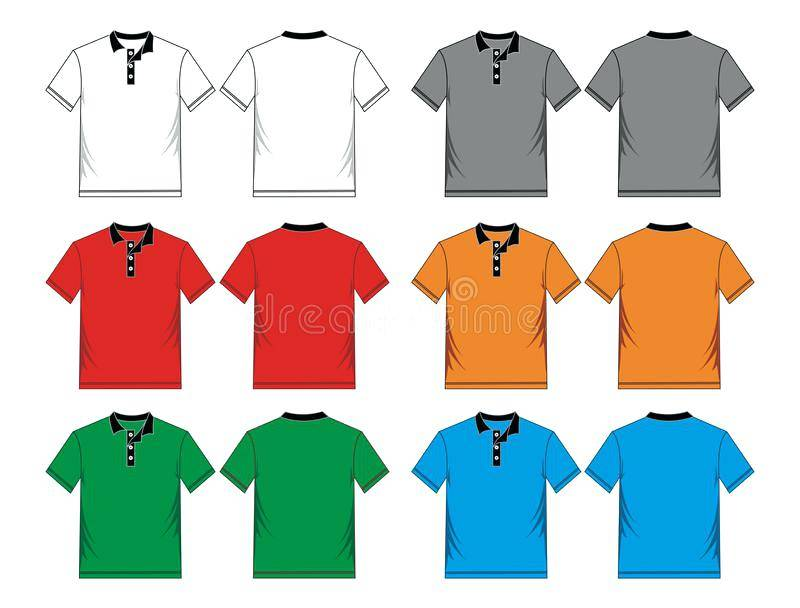 Polo Shirt Template Psd Free Download