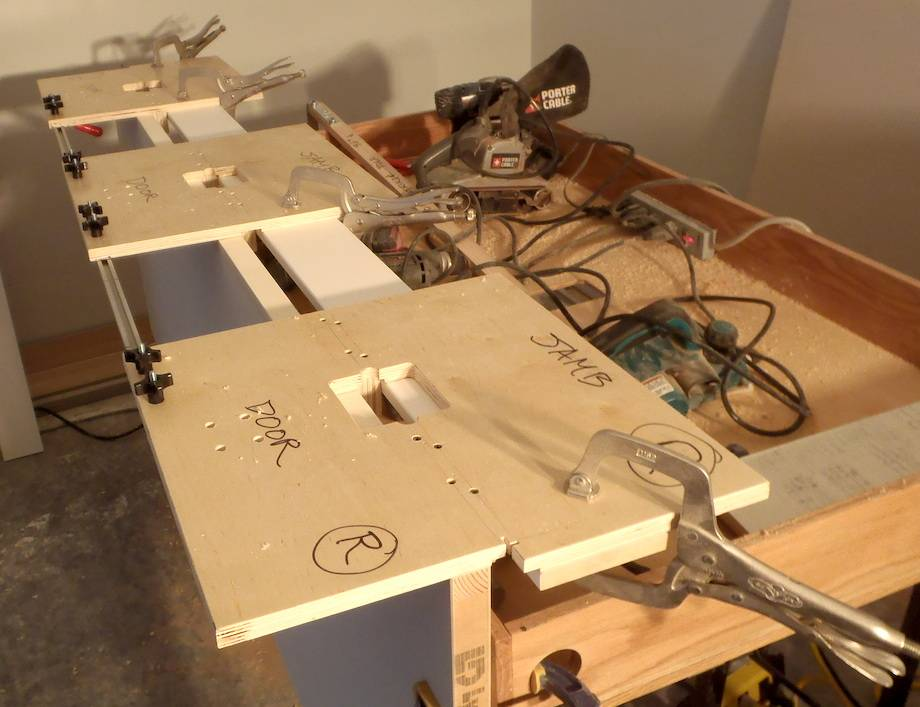 Porter Cable Hinge Template Jig