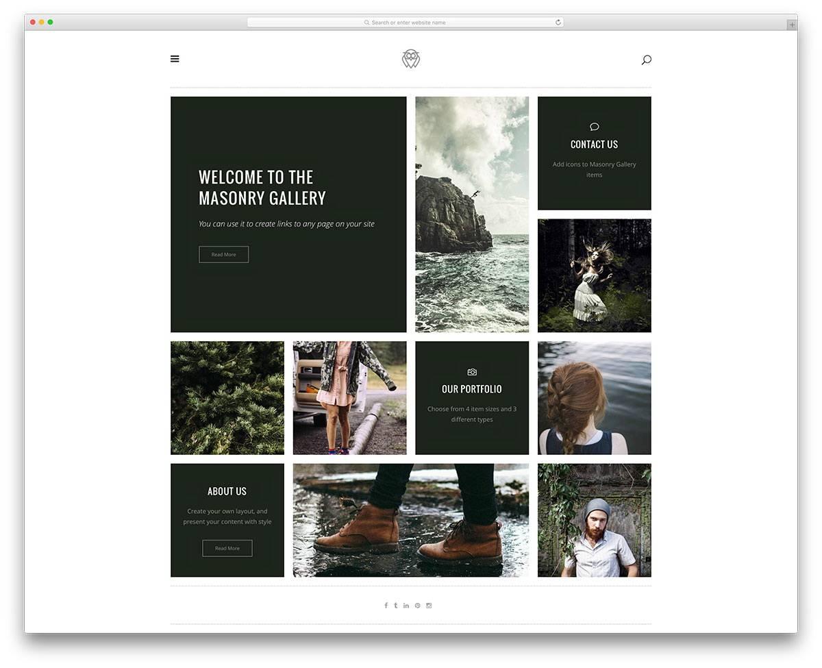 Portfolio Templates WordPress Free
