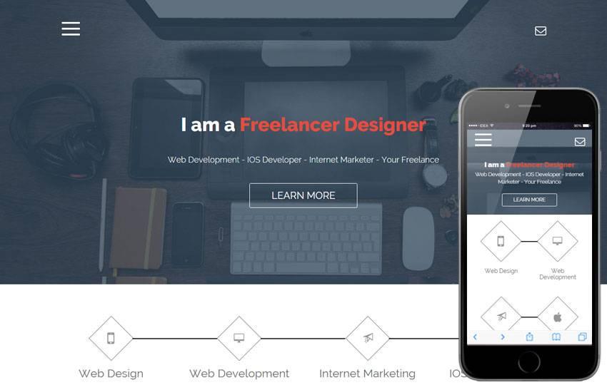 Portfolio Website Templates For Web Developer