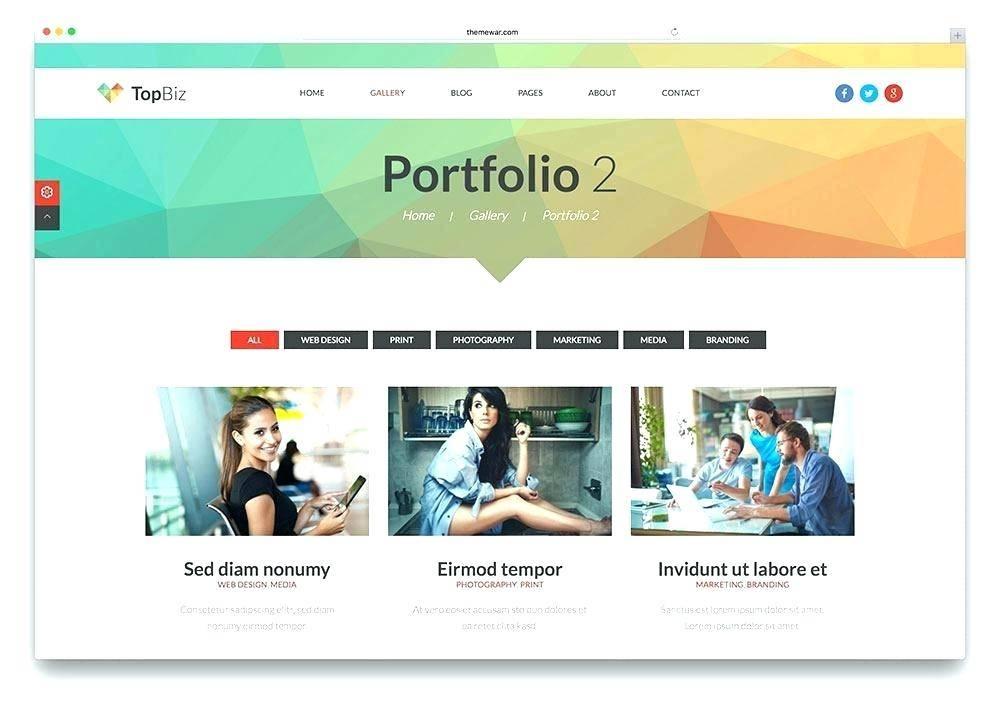 Portfolio Website Templates Html Css