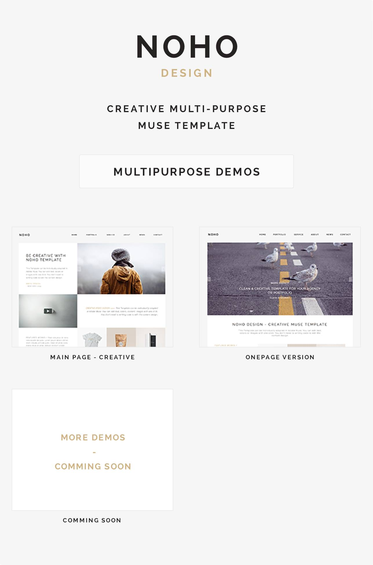 Portfolio Website Templates Themeforest