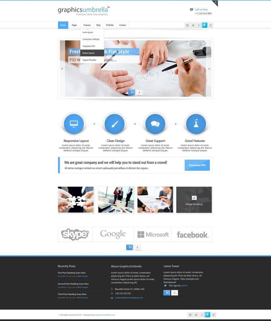 Portfolio Website Templates WordPress Free