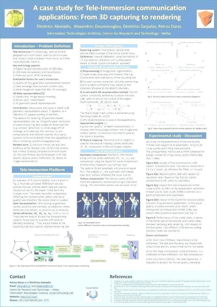 Poster Presentation Template Free Download 90 X 120