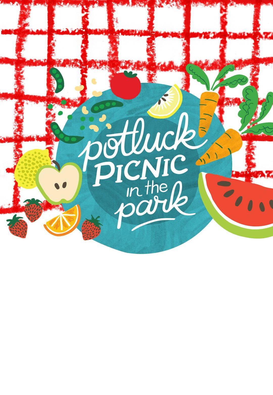 Potluck Picnic Invitation Template