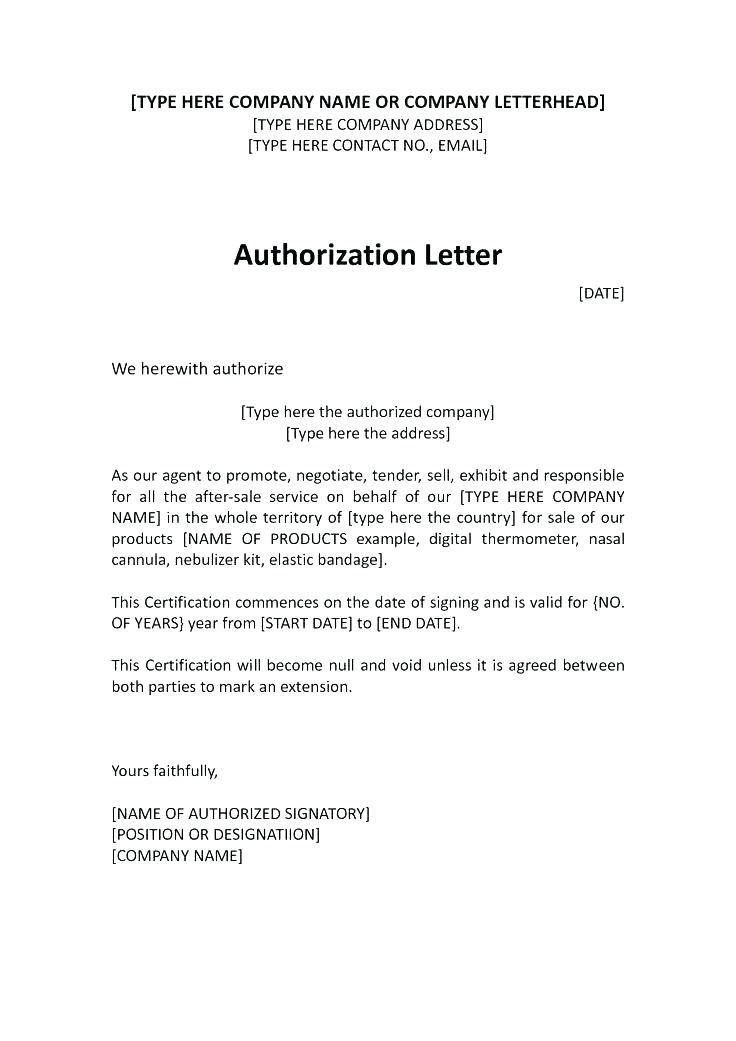 Power Of Attorney Letter Template Uk