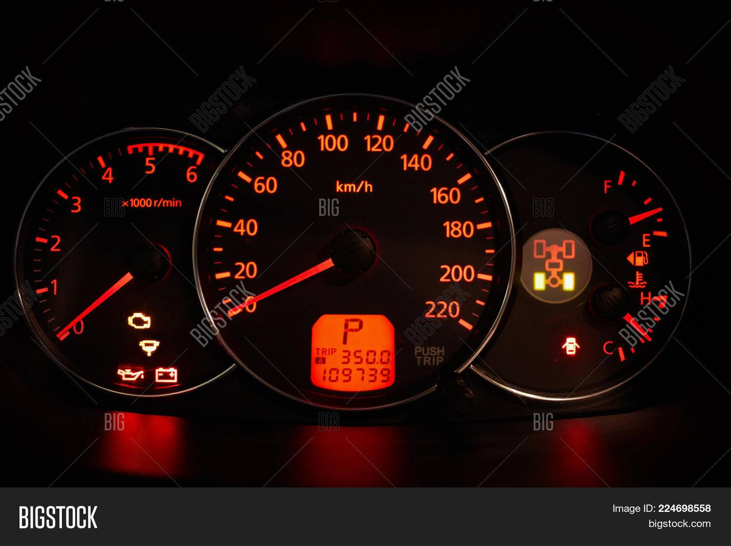Powerpoint Car Dashboard Template