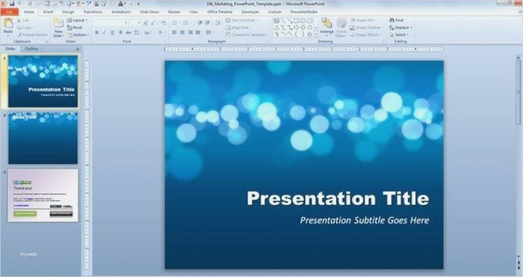 Powerpoint Presentation Templates Free Download Microsoft