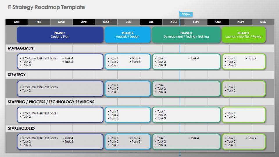 Powerpoint Roadmap Template Pptx