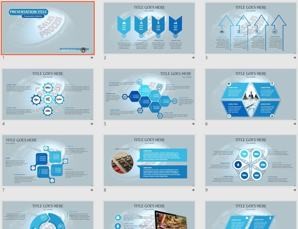 Powerpoint Sales Templates Free