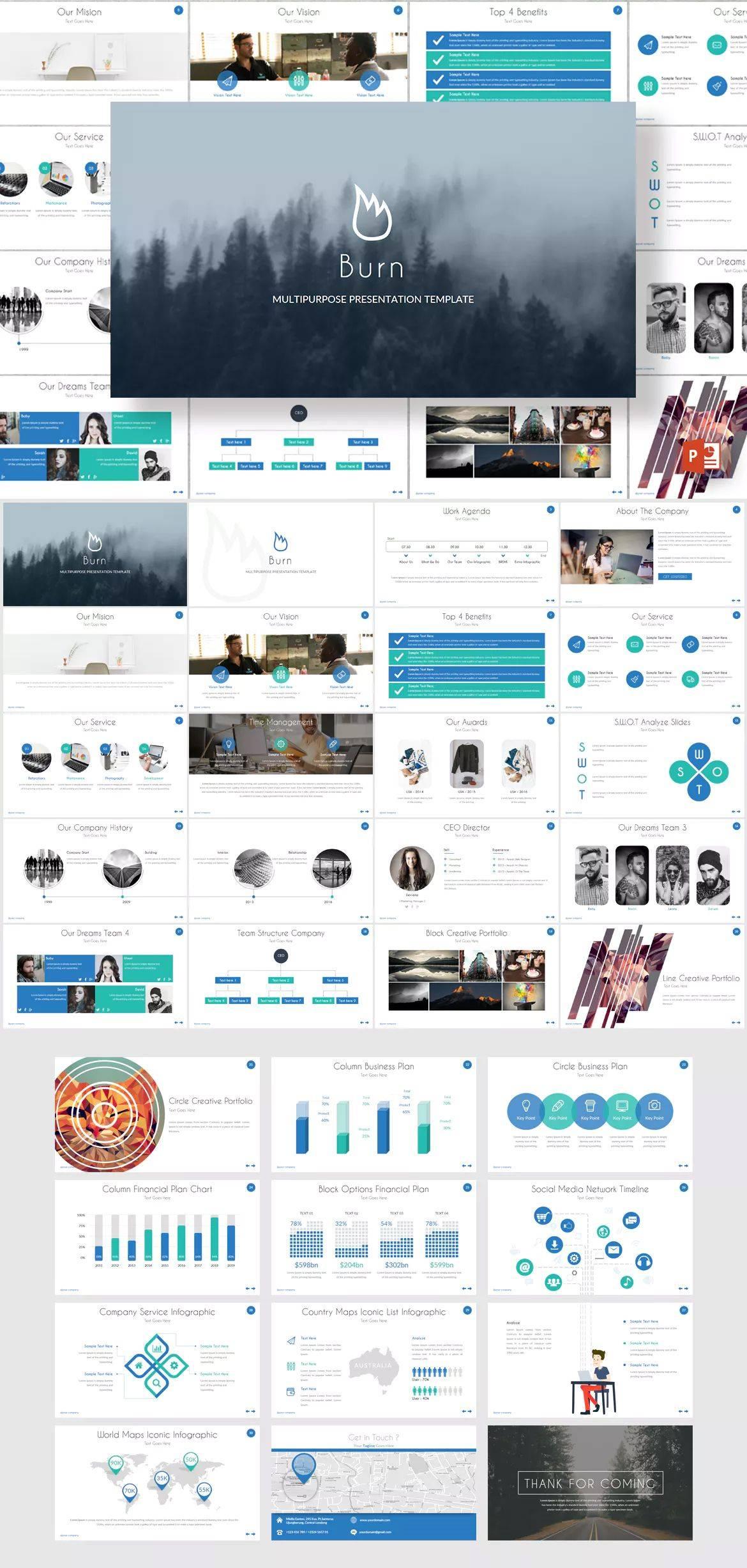 Powerpoint Slide Template Design