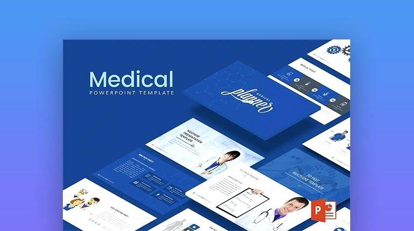 Powerpoint Slide Template Medical