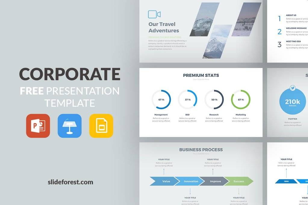 Powerpoint Slide Templates Business