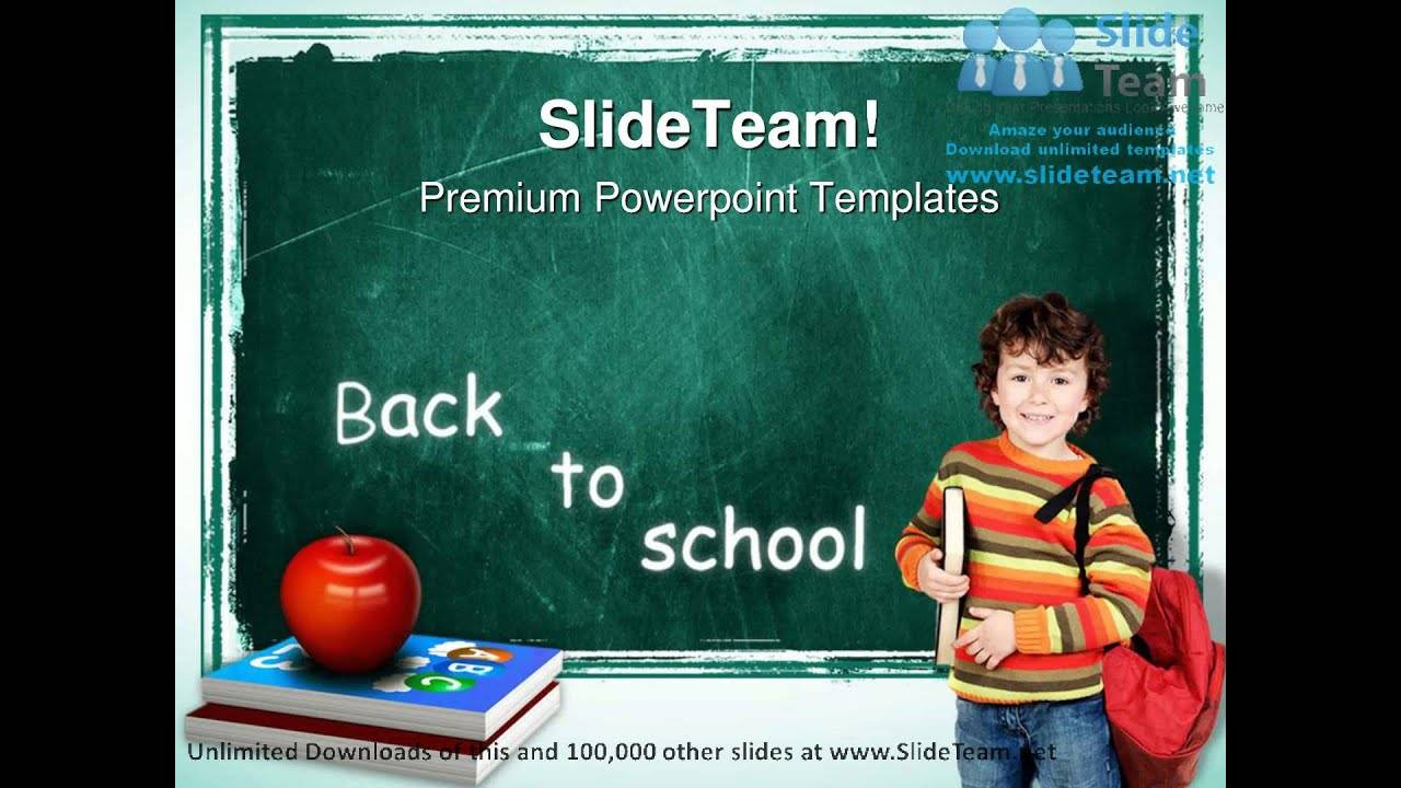 Powerpoint Slide Templates Education