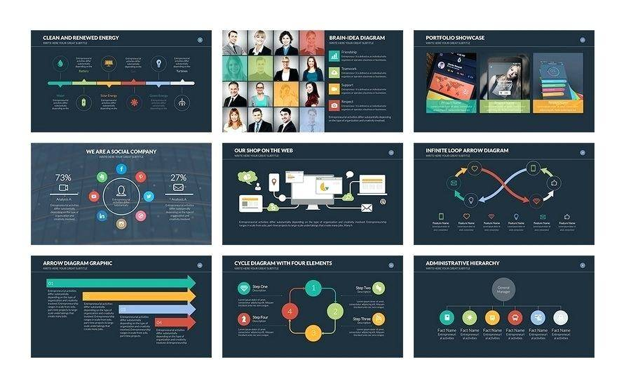 Powerpoint Slide Templates Free Download
