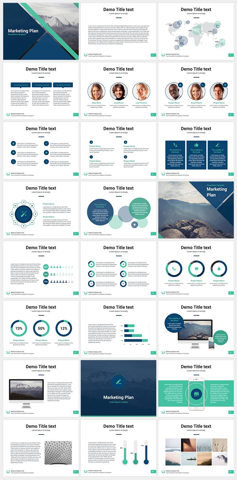 Powerpoint Slide Templates Free