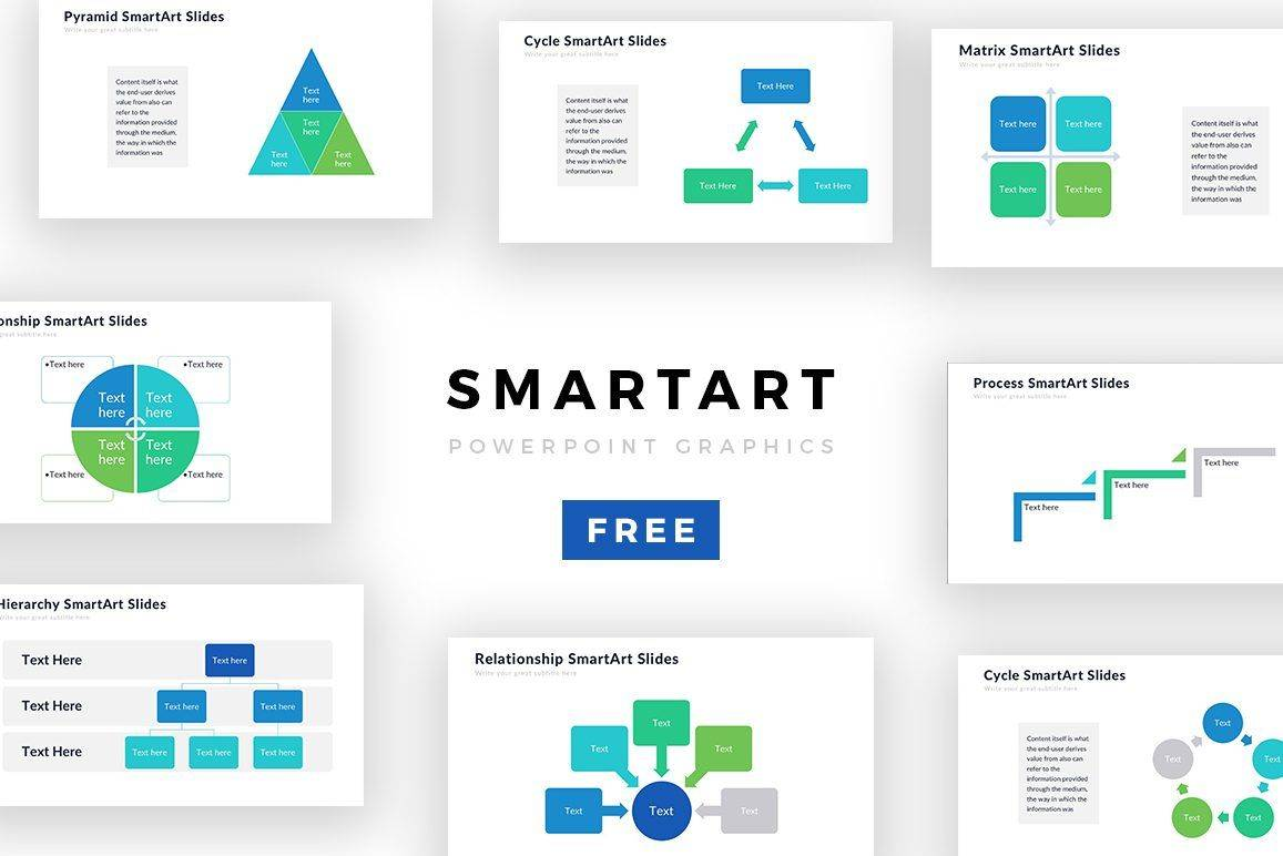 Powerpoint Smart Graphics Templates