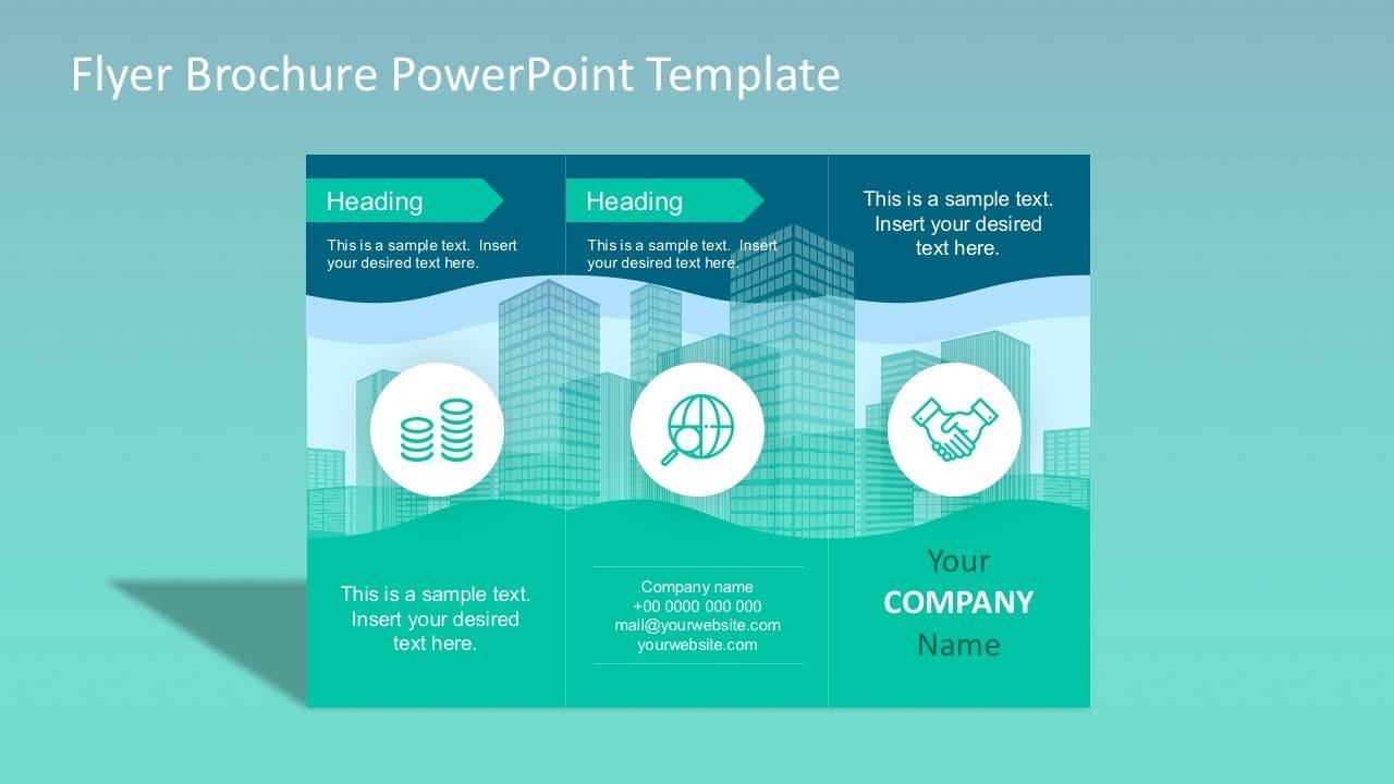 Powerpoint Template For Flyers