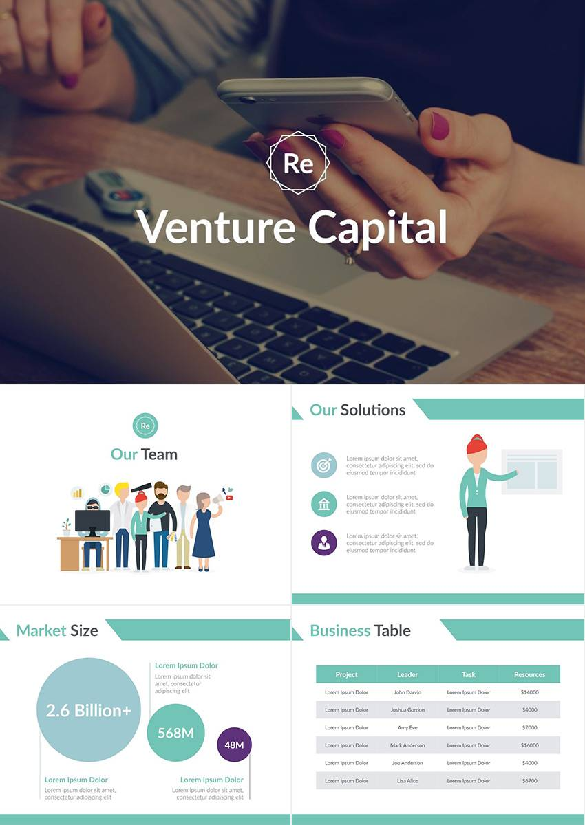 Powerpoint Templates For Startup Pitch