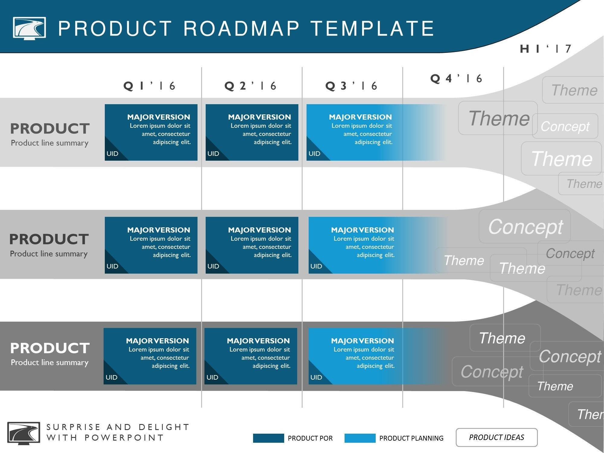 Powerpoint Templates Roadmap Sample