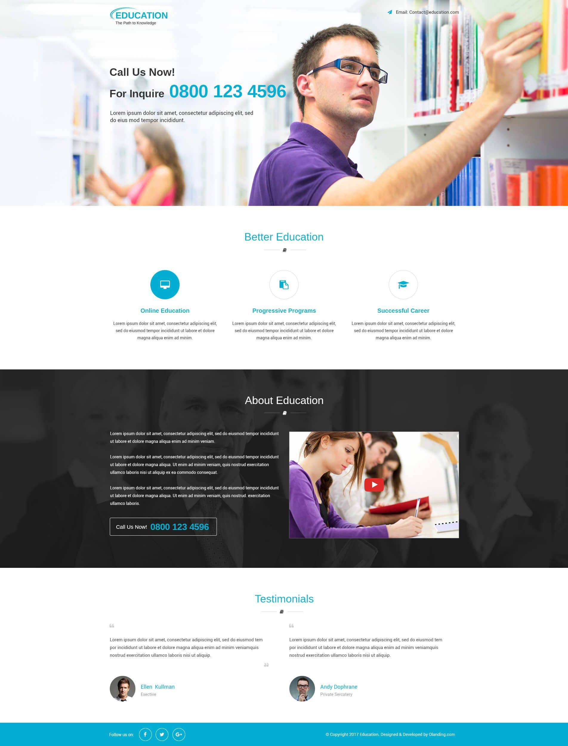 Ppc Landing Page Template