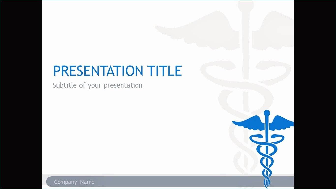 Ppt Presentation Templates Medical