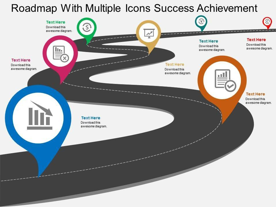 Ppt Roadmap Template Free Download