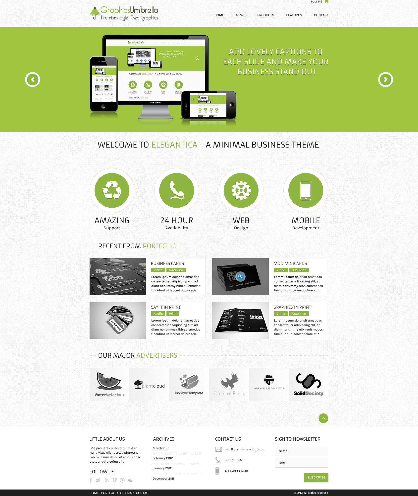 Premium Ecommerce Templates Free Download