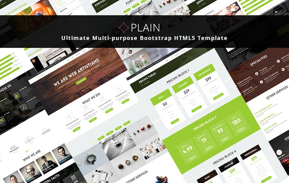 Premium Html5 Templates 2016