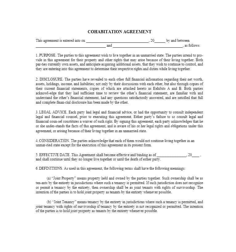 Prenup Agreement Template Canada